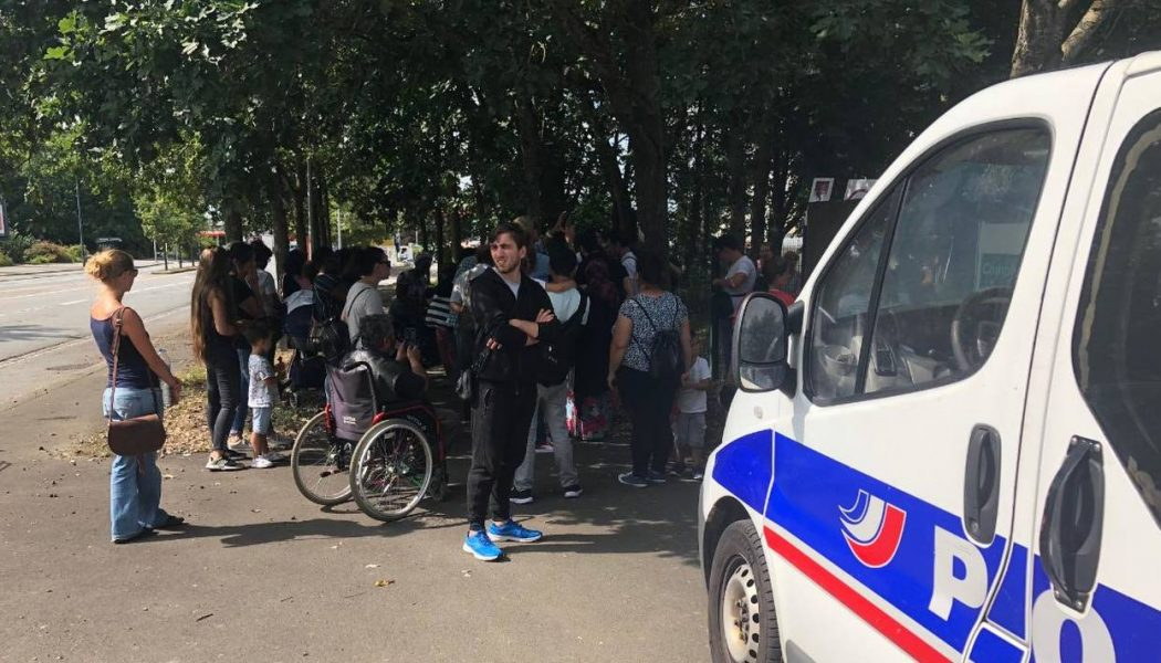 Rennes : des immigrés veulent squatter un gymnase… mais il est déjà occupé pour l'Aïd