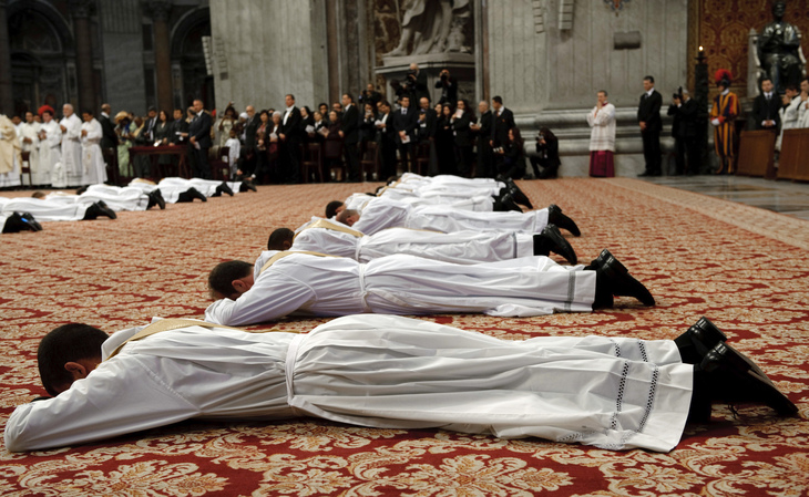 La population catholique croît de 1%