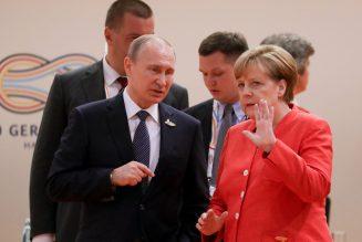 Poutine négocie ses exportations de gaz avec Merkel malgré les menaces de Trump