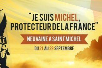 Grande neuvaine à Saint Michel Archange pour la France, du 21 au 29 septembre