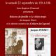 22 septembre : dédicace de livres de Jacques Perret