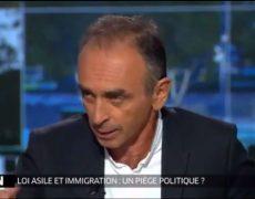 Paris Première (groupe M6) mise en demeure pour des propos tenus par Eric Zemmour sur l'immigration