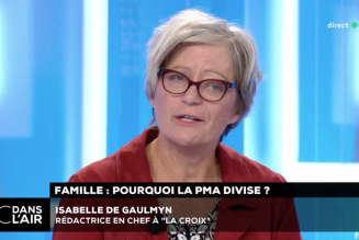 Pro-PMA, l'éditorialiste de La Croix s'en prend à La Manif pour Tous