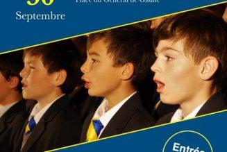 30 septembre à Charly sur Marne : Messe chantée et concert par l'Académie Musicale de Liesse
