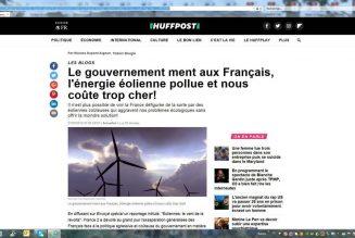 L'énergie éolienne pollue