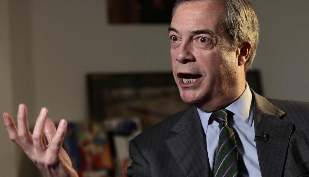Élections européennes : Nigel Farage lance The Brexit Party