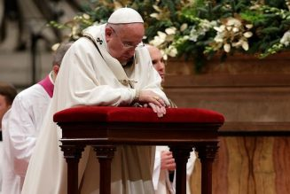 Dans la tempête qui secoue l'Eglise prions pour elle et pour le pape