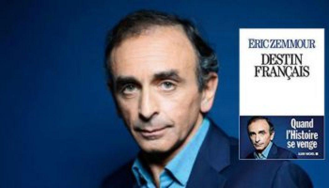 """Éric Zemmour : """"La plupart des historiens n'assument plus l'histoire de France"""""""