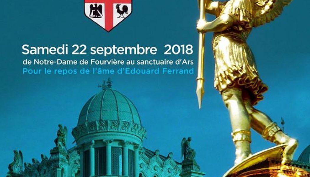 Pèlerinage de Fourvière à Ars, à pieds ou à cheval