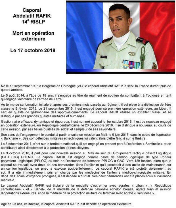 Mort d'un soldat fançais : le caporal Abdelatif Rafik Capture-10