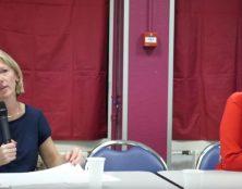Conférence d'Aude Mirkovic et Ludovine de La Rochère à Angers