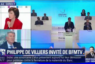"""Philippe de Villiers : """"Je suis populiste et je ne me soigne pas"""""""