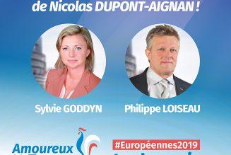 2 eurodéputés RN soutiennent Nicolas Dupont-Aignan