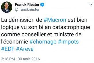 Un ministre de la culture favorable à la répression sur internet