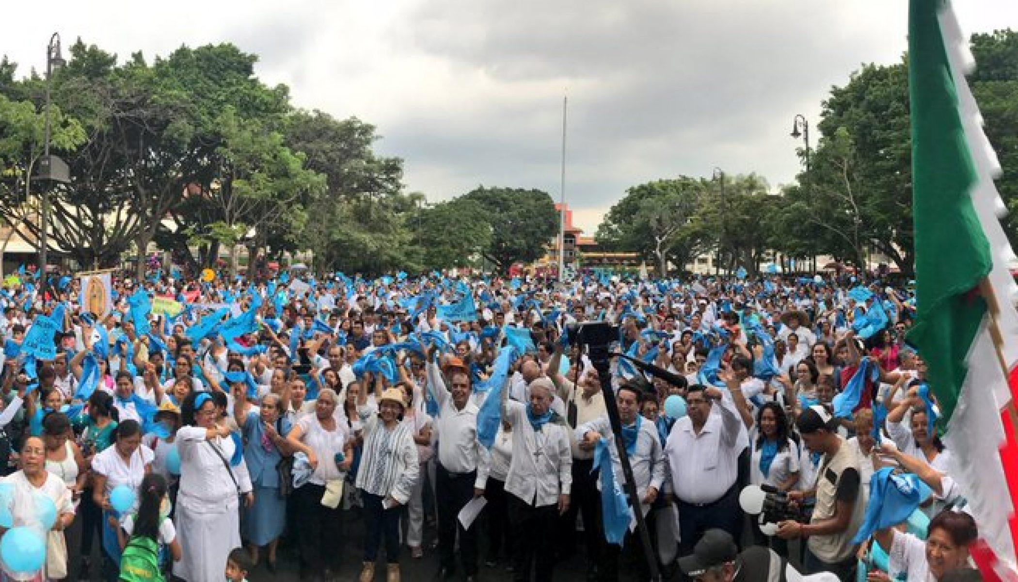 Succès de la Marche pour la vie au Mexique