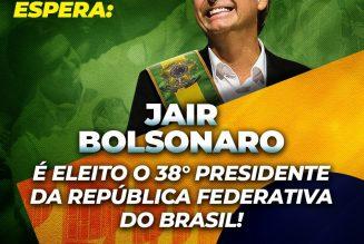 Bolsonaro élu président du Brésil