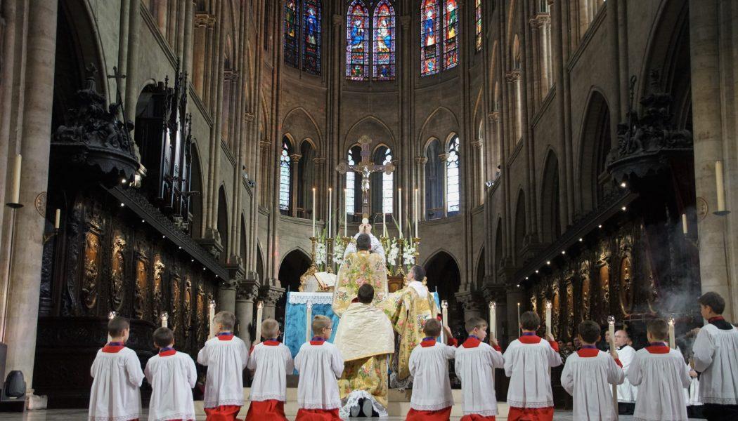 La chapelle de l'Immaculée Conception fête ses 10 ans à Notre-Dame de Paris