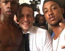 Saint-Martin : l'homme qui posait avec le président, interpellé pour possession de stupéfiants