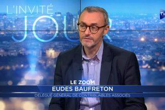 Eudes Baufreton : le combat de Contribuables Associés