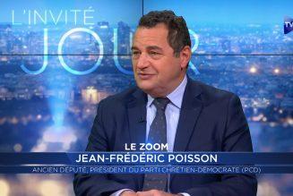 Jean-Frédéric Poisson : L'islam impose une civilisation de substitution