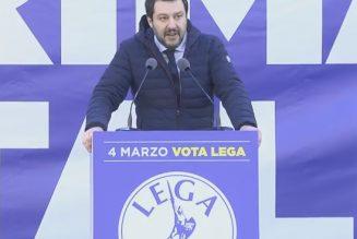 Italie : les catholiques votent Matteo Salvini