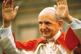 Le Pape d'Humanae Vitae est canonisé !