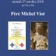 27 octobre : dédicace du père Michel Viot