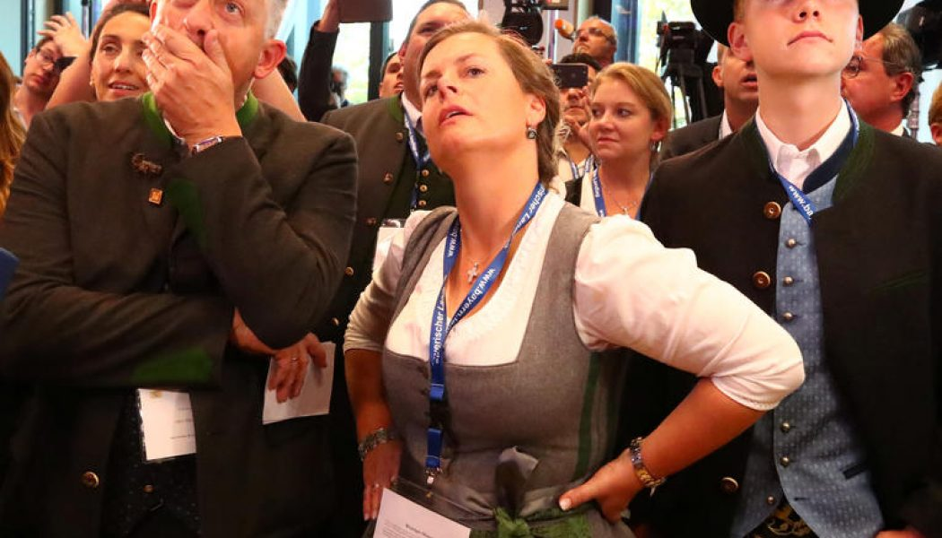 Les élections en Allemagne préfigurent la vague populiste qui devrait s'abattre sur le Parlement européen