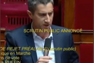 Une fois n'est pas coutume, écoutez cet excellent coup de gueule d'un député de France insoumise