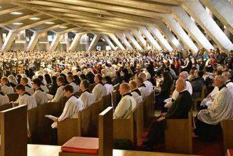 Large hospitalité des sanctuaires de Lourdes à la FSSPX