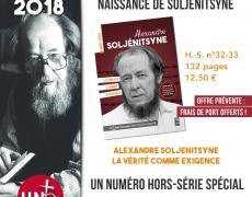 Centenaire de la naissance de Soljénitsyne