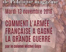 13 novembre : Comment l'armée française a gagné la Grande Guerre