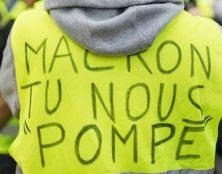 Les gilets jaunes inquiètent Macron