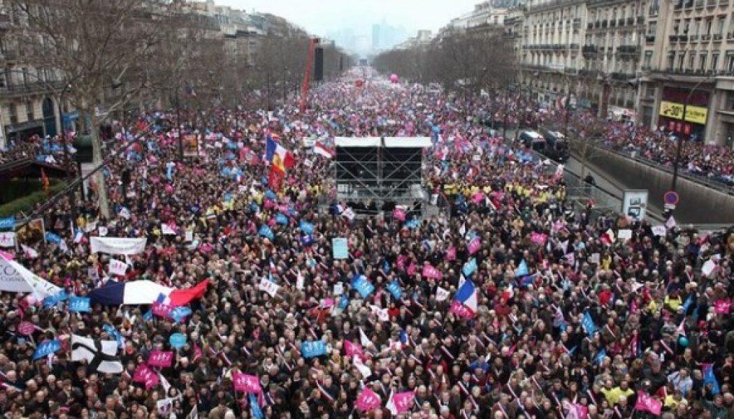 Nous étions bien un million à l'appel de La Manif Pour Tous
