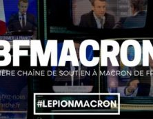 Gilbert Collard censuré par BFM Macron