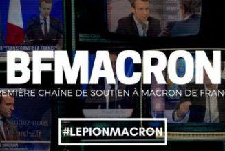 Gilbert Collard censuré par BFM Macron