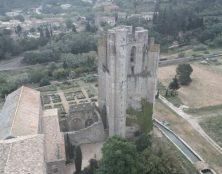 Restauration du Clocher de l'Abbaye de Lagrasse