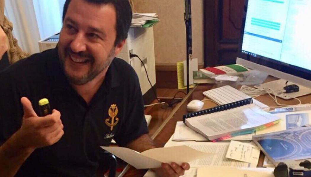Poursuites contre Matteo Salvini : sans suite