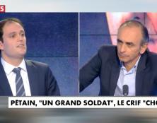 Eric Zemmour défend la mémoire du Maréchal Pétain