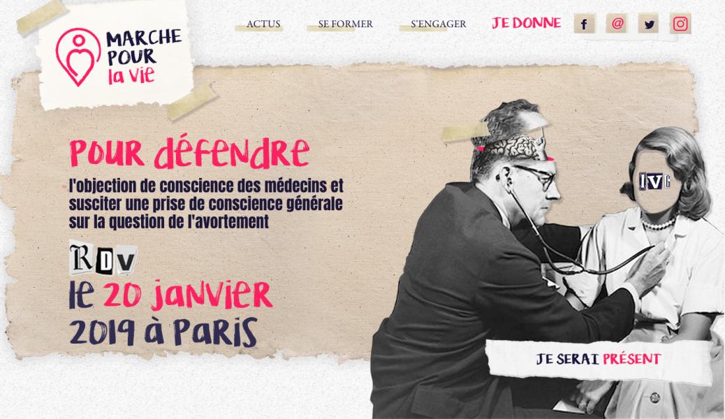 La Marche pour la Vie annonce sa mobilisation : objection de conscience pour tous !