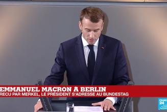 Macron au Bundestag. Echos d'un discours.