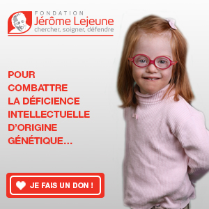 Faire un don à la fondation Lejeune