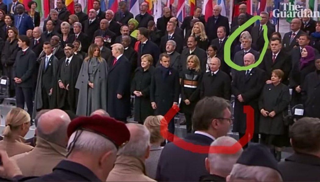 11 novembre : comment Macron a humilié la Serbie