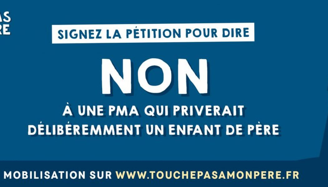 Où t'es, papa où t'es ? Actions d'Alliance Vita contre l'extension de la PMA