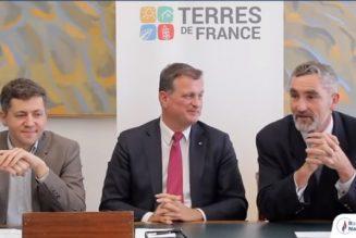 Lancement, au sein du Rassemblement national, du forum Terres de France, sur l'agriculture et la ruralité