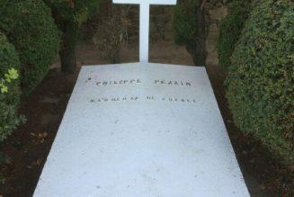 La tombe du maréchal Pétain a été vandalisée, durant la nuit du 10 au 11 novembre