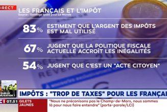 Cette liste est en cours d'actualisation (passage de 192 à 459 taxes)