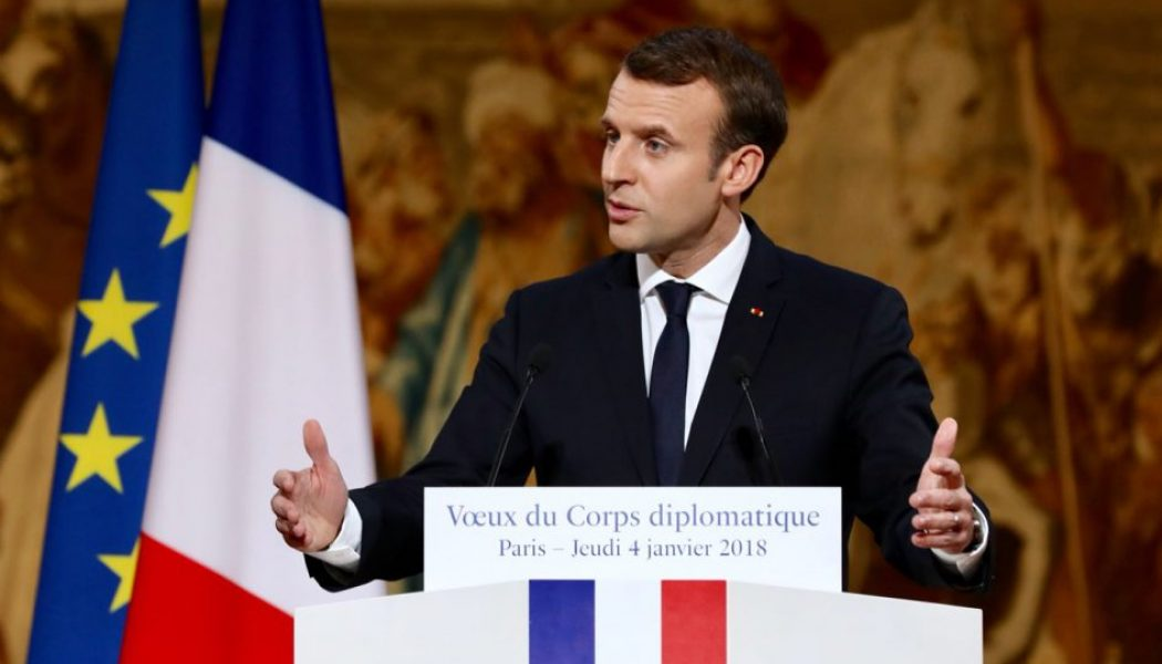 Pour Macron, plutôt la gouvernance mondiale que la patrie