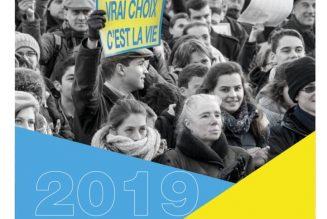 Tractez, collez, stickez pour la Marche Pour La Vie 2019