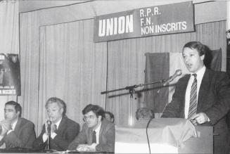 30ème anniversaire de la mort de Jean-Pierre Stirbois, un des premiers promoteurs de l'union des droites